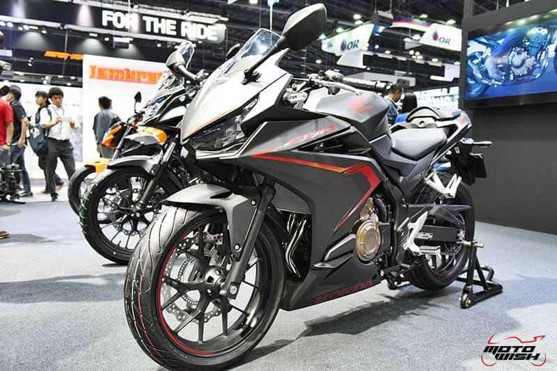 เปิดตัว All New Honda CBR500R, CB500F, CB500X พร้อมราคาโปรโมชั่น Motor Expo 2018   MOTOWISH 25