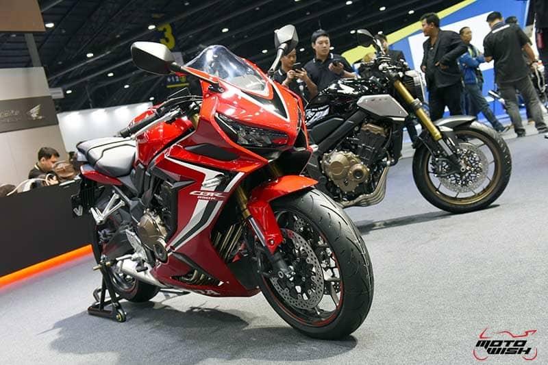 เปิดตัว New Honda Cbr650r Cb650r ขุมพลัง 4 สูบ พร้อมราคา