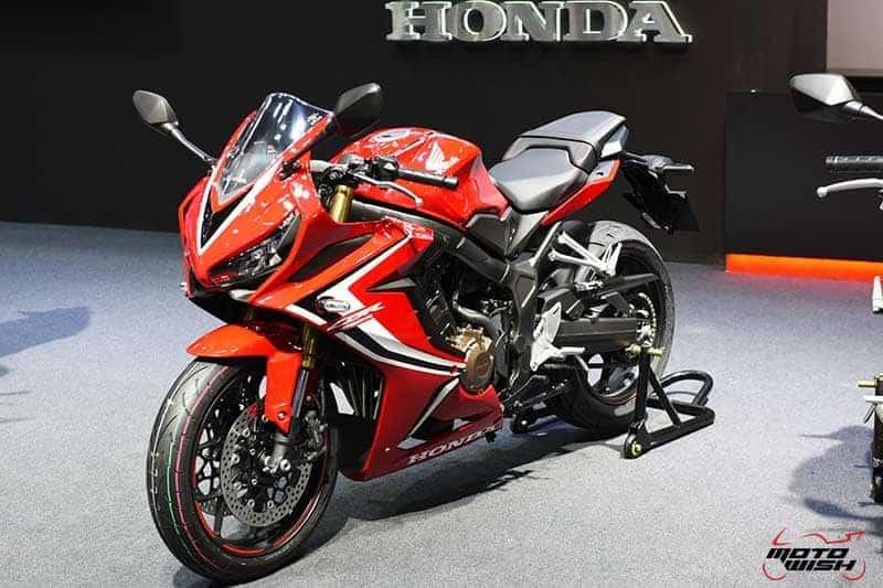 เปิดตัว New Honda CBR650R, CB650R ขุมพลัง 4 สูบ พร้อมราคาโปรโมชั่น Motor Expo 2018 | MOTOWISH 10