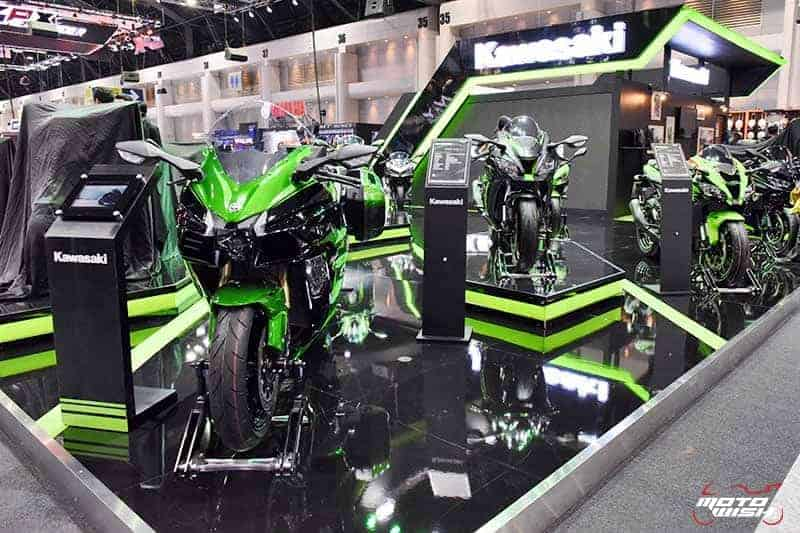 Kawasaki เปิดตัว All New Z400, Z250 พร้อมจัดโปรโมชั่นแรงทุกรุ่นส่งท้ายปี Motor Expo 2018 | MOTOWISH 4