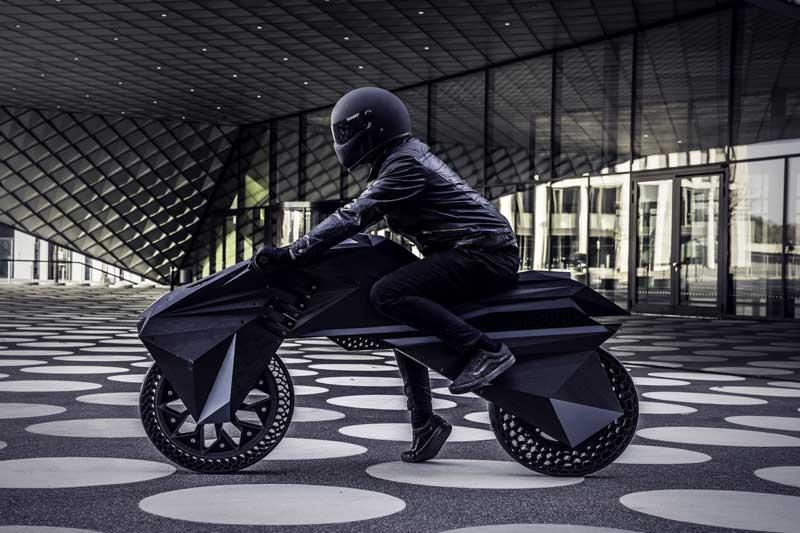 NERA รถจักรยานยนต์ที่ทำจากเทคโนโลยีการพิมพ์ 3 มิติ คันแรกของโลก | MOTOWISH 2