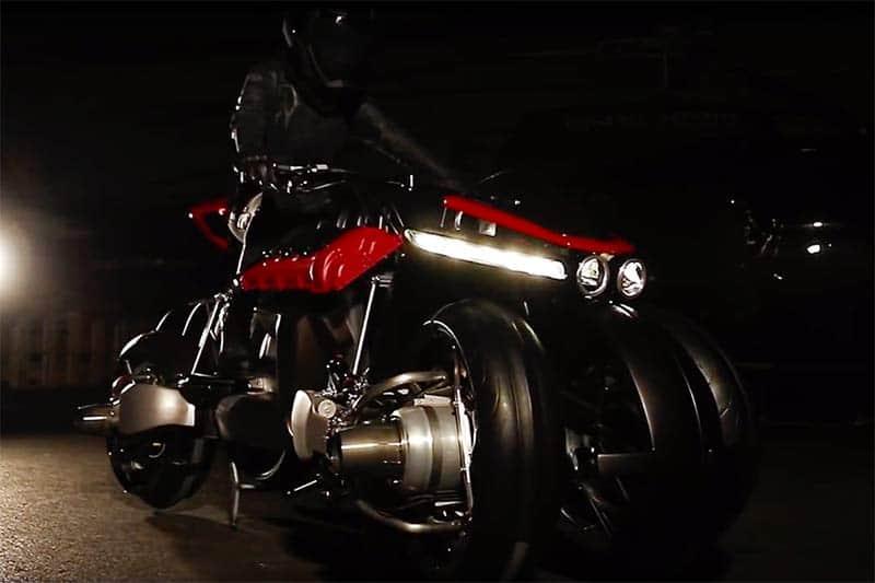 แนวคิดสุดล้ำ Lazareth LMV 496 จักรยานยนต์บินได้ พลังเจ็ท จากผู้ผลิตชื่อดังแดนฝรั่งเศส | MOTOWISH