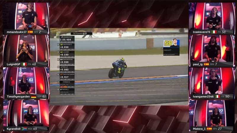 ดอร์น่าจัดหนัก MotoGP eSport มันส์ไม่แพ้การแข่งขันจริง ผู้ชนะรับรางวัล BMW M240i | MOTOWISH 3