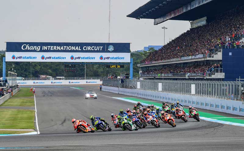 "PTT Thailand Grand Prix 2018 คว้ารางวัลรายการแข่งขันโมโตจีพี ""ดีที่สุดแห่งปี""   MOTOWISH 5"