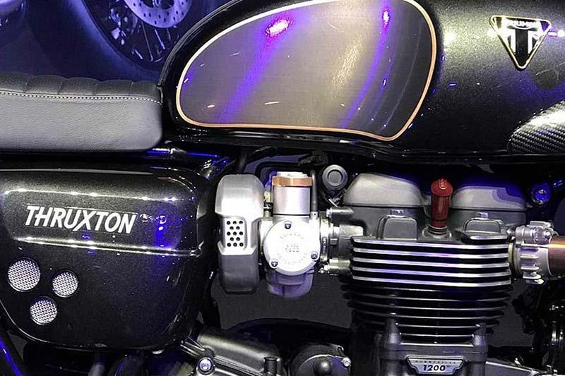 เผยโฉม Triumph Thruxton R TFC Limited Edition เตรียมปล่อยของ มกราคม 2019 | MOTOWISH 1