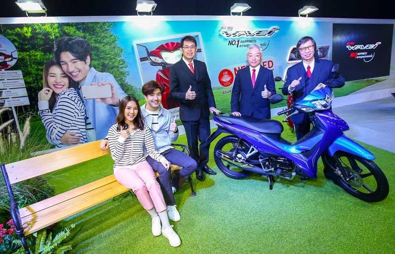 เอ.พี. ฮอนด้า ครองแชมป์รถจักรยานยนต์ไทย 30 ปี ประเดิมเปิดตัวรถใหม่ 4 รุ่น รับปีหมูทอง | MOTOWISH 14
