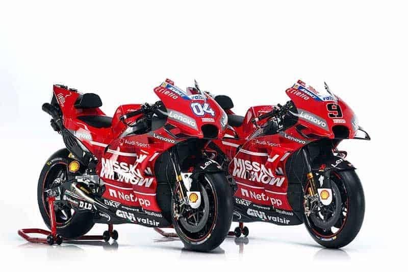 เปิดตัว Ducati Desmosedici GP19 กระสุนพิฆาต พลังแดงเพลิง | MOTOWISH 7