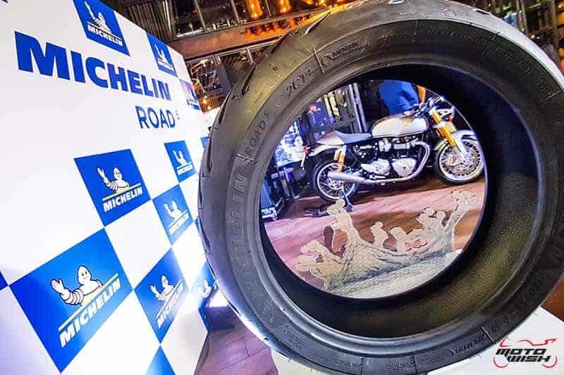 เปิดตัว Michelin Road 5 ยางไฮเพอร์ฟอร์แมนซ์สำหรับรถสปอร์ตทัวริ่ง   MOTOWISH 1