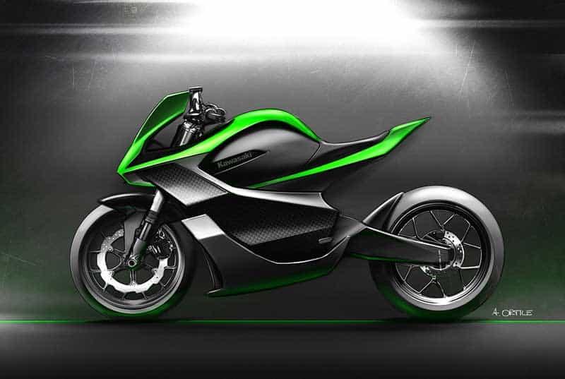 Kawasaki จดสิทธิบัตรเครื่องยนต์ไฟฟ้ามาพร้อมกับระบบระบายความร้อนด้วยของเหลว | MOTOWISH 3