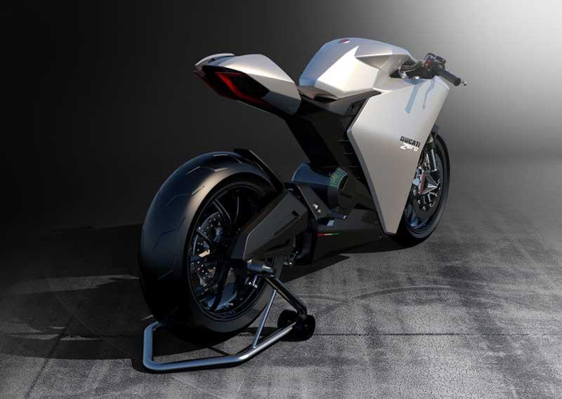 THE ZERO แนวคิดแห่งอนาคตมุ่งสู่รถจักรยานยนต์ไฟฟ้าของ Ducati   MOTOWISH 2