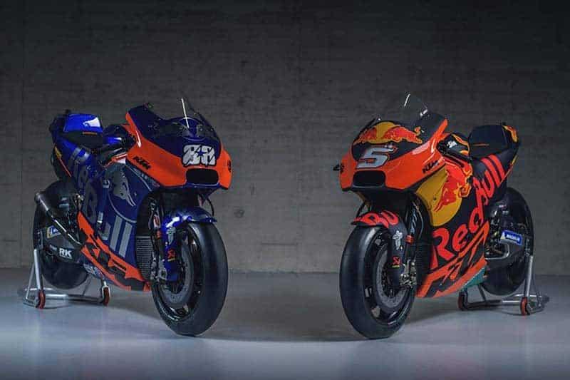 เปิดตัวอสูรกายค่ายส้ม KTM RC16 2019 ทีมโรงงาน Red Bull KTM Factory และทีมรอง Red Bull KTM Tech3 | MOTOWISH 1