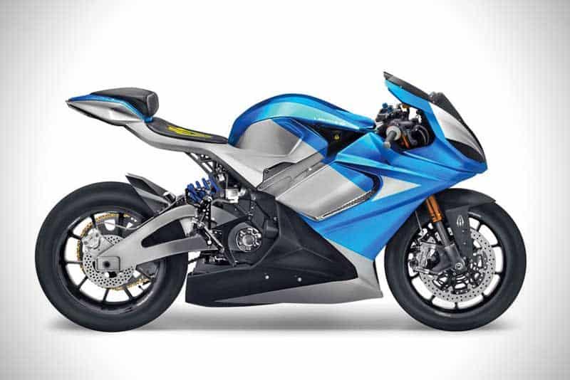Lightning LS-218 รถจักรยานยนต์ไฟฟ้า ที่สามารถเร่งความเร็วจาก 160-240 กม./ชม. ใช้เวลาเพียง 2 วินาที   MOTOWISH 1