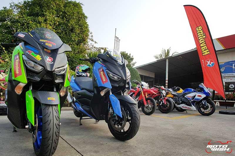 ซ้อนท้ายสำนักแต่งรถชื่อดังทั้ง 7 ไปร่วมกิจกรรม Ride Strong To Ratchaburi By Caltex | MOTOWISH 16