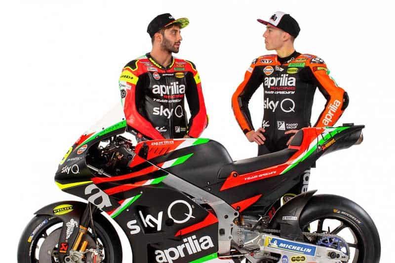 เปิดตัวทีมแข่ง Aprilia พร้อมเผยโฉม RS-GP ลุยศึกจักรยานยนต์ชิงแชมป์โลก ฤดูกาล 2019 | MOTOWISH 10