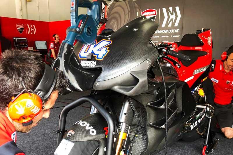 วิงซ์แซ่บคาร์บอน 6 ชิ้น ทีเด็ดหรือแค่ลองของ Ducati Team MotoGP เทสขึ้นนำวันที่ 3 ยกแผง!!!   MOTOWISH 2