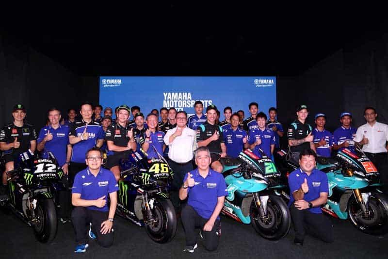 Yamaha Racing เปิดตัวทีมแข่งระดับโลก พร้อมทวงบัลลังก์แชมป์ทุกรายการ | MOTOWISH 1