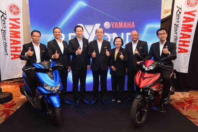ยามาฮ่า เปิดตัวรถ 2 รุ่นใหม่ พร้อมแถลงนโยบายปี 2562 รุกตลาดรถจักรยานยนต์เต็มพิกัด | MOTOWISH 3