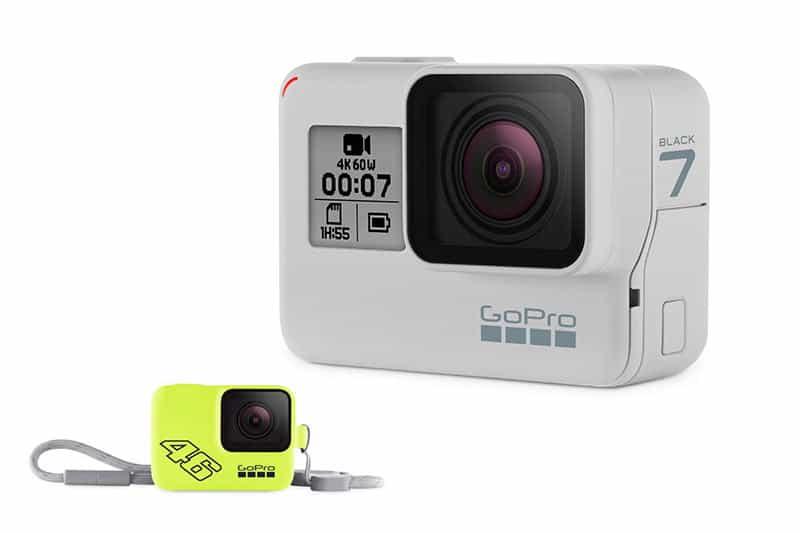เปิดตัว GoPro HERO7 Black รุ่นลิมิเต็ด สีขาว Dusk White พร้อม Sleeve+Lanyard VR46 | MOTOWISH 7
