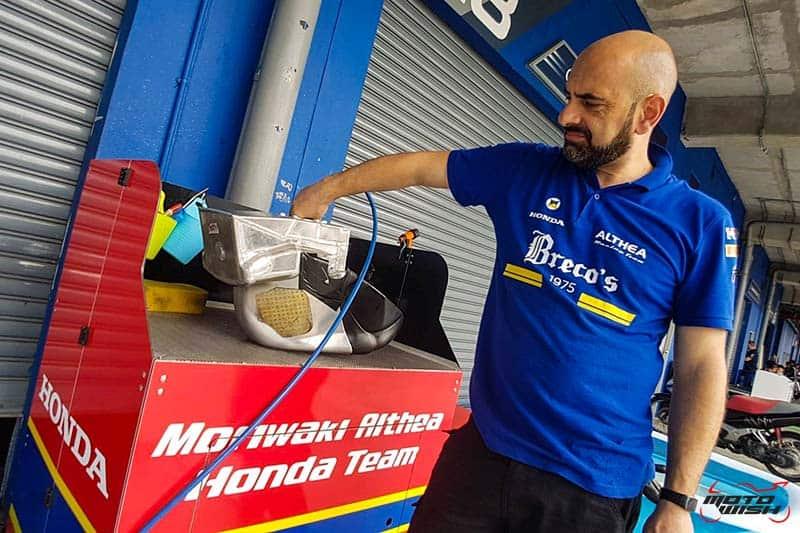 ส่องตัวแข่ง Honda CBR1000RR SP2 โมริวากิ อัลเทีย ฮอนด้า ทีม WorldSBK 2019 | MOTOWISH 3