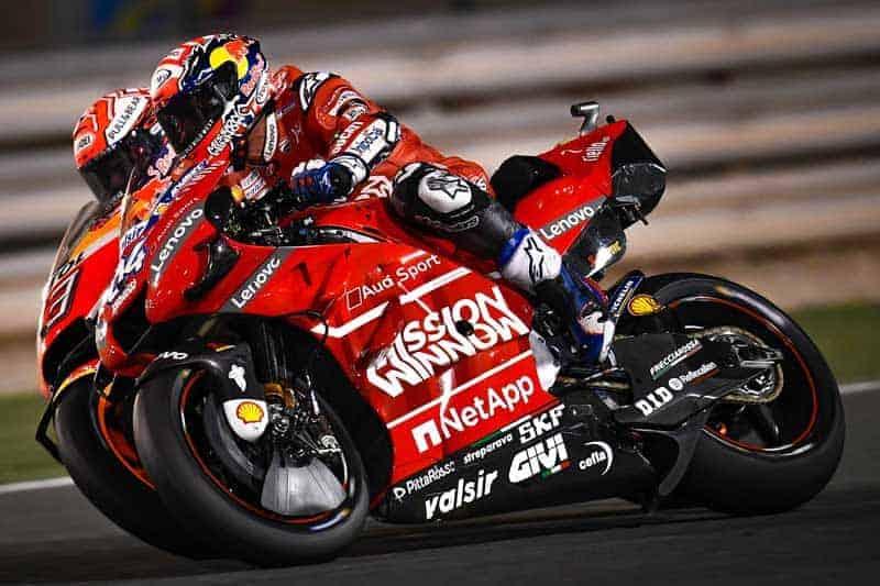 ย้อนหลังการแข่งขัน MotoGP 2019 สนามที่ 1 Qatar GP ลุ้นโคตรมันส์ยันเข้าเส้น มาเกวซเสียบในสะกิดโดวิ   MOTOWISH