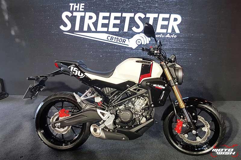 เอ.พี. ฮอนด้า เปิดตัว New Honda CB150R THE STREESTER 2019 สปอร์ตสายพันธ์ใหม่ #สายเข้มเต็มข้อ | MOTOWISH 3
