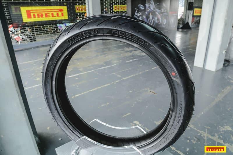 รีวิวยาง Pirelli Diablo Rosso Sport ถอดเทคโนโลยีความสุดจาก SUPERCORSA | MOTOWISH 32