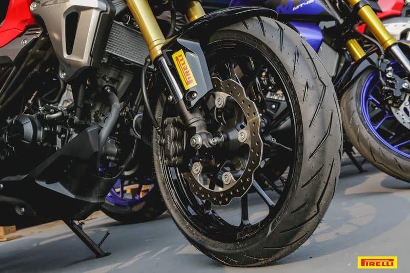 รีวิวยาง Pirelli Diablo Rosso Sport ถอดเทคโนโลยีความสุดจาก SUPERCORSA | MOTOWISH 33