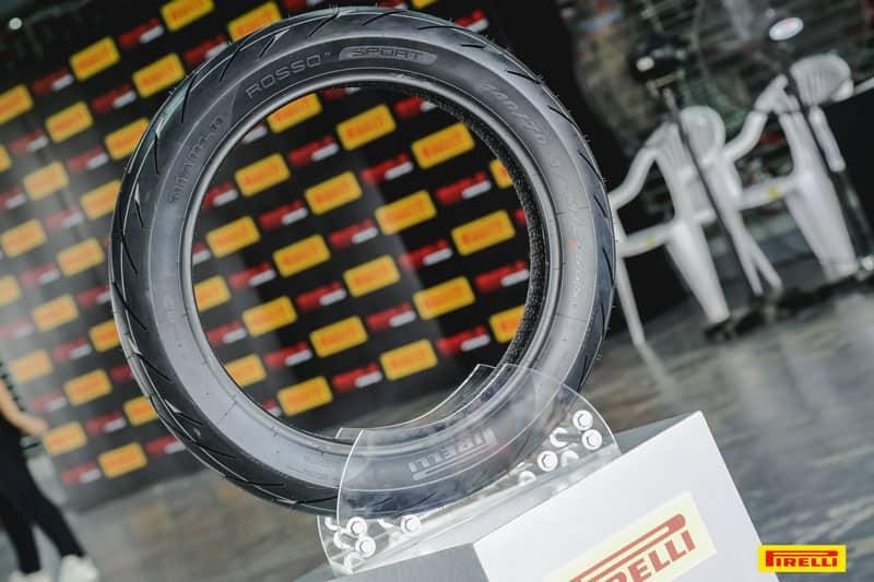 รีวิวยาง Pirelli Diablo Rosso Sport ถอดเทคโนโลยีความสุดจาก SUPERCORSA | MOTOWISH 28