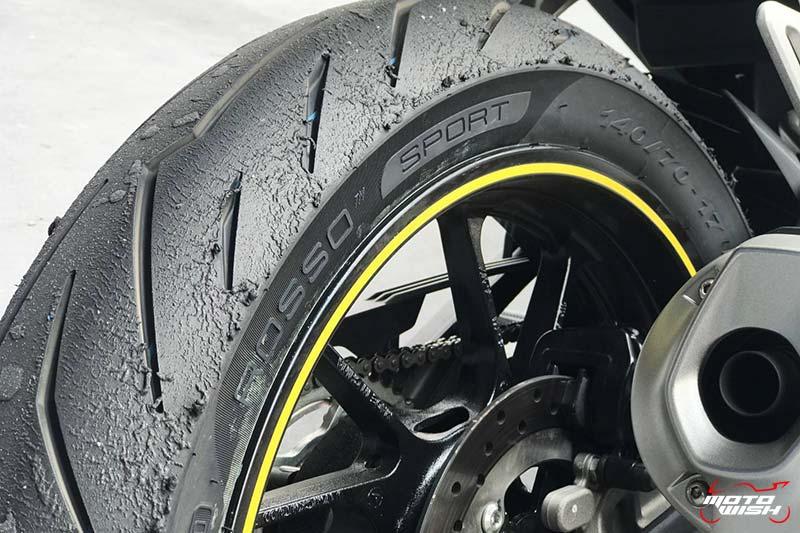 รีวิวยาง Pirelli Diablo Rosso Sport ถอดเทคโนโลยีความสุดจาก SUPERCORSA | MOTOWISH 18
