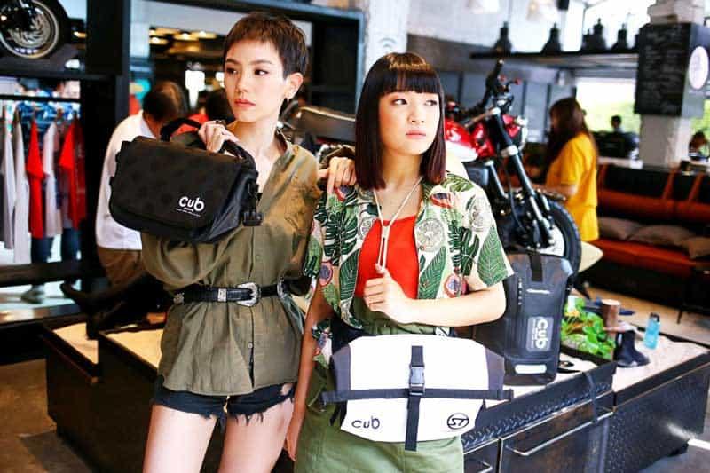 CUB House' ดึงแบรนด์แฟชั่นญี่ปุ่นเปิดตัว 'CUB House x Stream Trail' กระเป๋าสำหรับไบค์เกอร์สายลุย | MOTOWISH 2