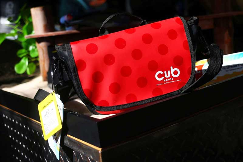 CUB House' ดึงแบรนด์แฟชั่นญี่ปุ่นเปิดตัว 'CUB House x Stream Trail' กระเป๋าสำหรับไบค์เกอร์สายลุย | MOTOWISH 4