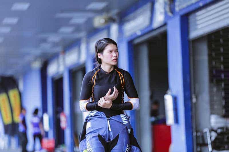 """""""ตาล-รัชฎา"""" นักบิดสาวไทยคนแรกใน """"เวิลด์ซูเปอร์ไบค์"""" รับฝันเป็นจริงบิดชิงแชมป์โลกในบ้านเกิด   MOTOWISH 2"""