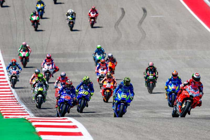 โปรแกรมเวลาพร้อมลิงค์ ถ่ายทอดสดการแข่งขัน MotoGP 2019 สนามที่ 3 Americas GP | MOTOWISH