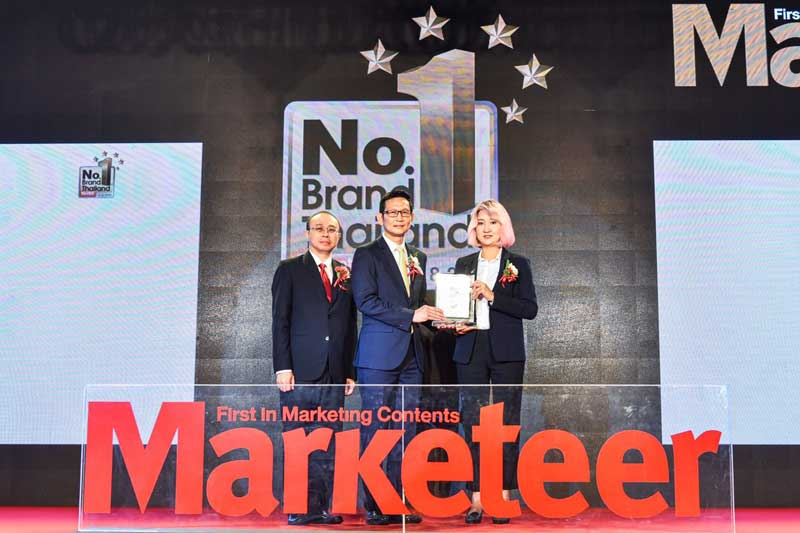 A.P. Honda คว้ารางวัล Marketeer No.1 Brand Thailand 2019 ต่อเนื่องเป็นปีที่ 8 | MOTOWISH