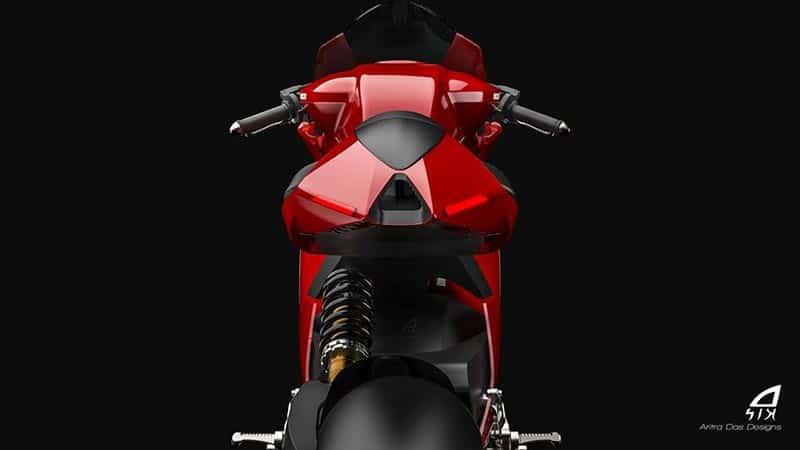 ชมภาพเรนเดอร์ Ducati Elettrico รถพลังงานไฟฟ้า ผลงานการออกแบบจาก Aritra Das Designs   MOTOWISH 3