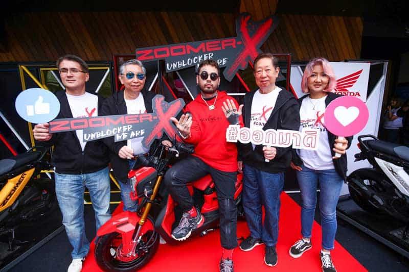 New Honda Zoomer-X ประกบ Rapper UrboyTJ ชวนวัยรุ่นมาสนุกนอกกรอบ มีดี...ก็ออกมาดิค๊าบบ!!! | MOTOWISH 13