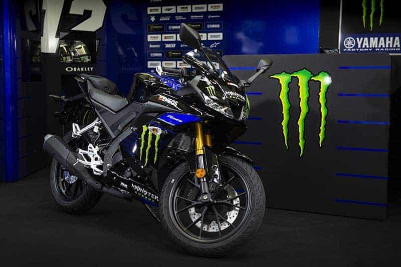 เปิดตัว Yamaha YZF-R125 Monster Energy Yamaha MotoGP Edition สวมวิญญาณรถแข่ง รอสซี่ และบีญาเลส | MOTOWISH 6