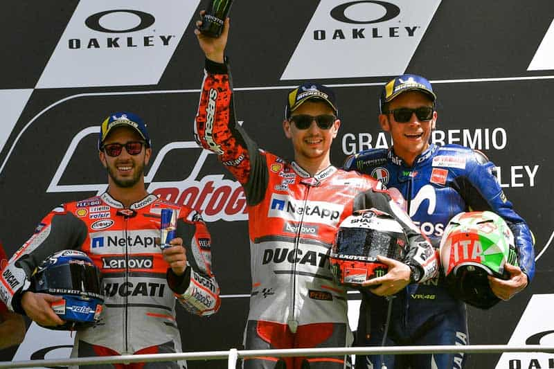 โปรแกรมเวลาพร้อมลิงค์ ถ่ายทอดสดการแข่งขัน MotoGP 2019 สนามที่ 6 ItalianGP   MOTOWISH 1