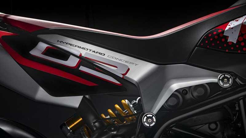 Ducati Hypermotard 950 Concept รถคอนเซ็ปต์คันงาม ที่ได้รับแรงบันดาลใจจากโมโตจีพี | MOTOWISH 6