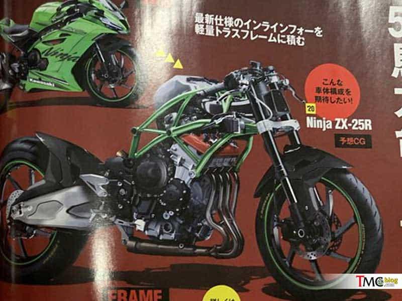 ว๊าวว... Kawasaki ZX25-R พิกัด 250 ซีซี เครื่อง 4 สูบ กวาดเรดไลน์ได้สูงถึง 20,000 รอบ | MOTOWISH 3