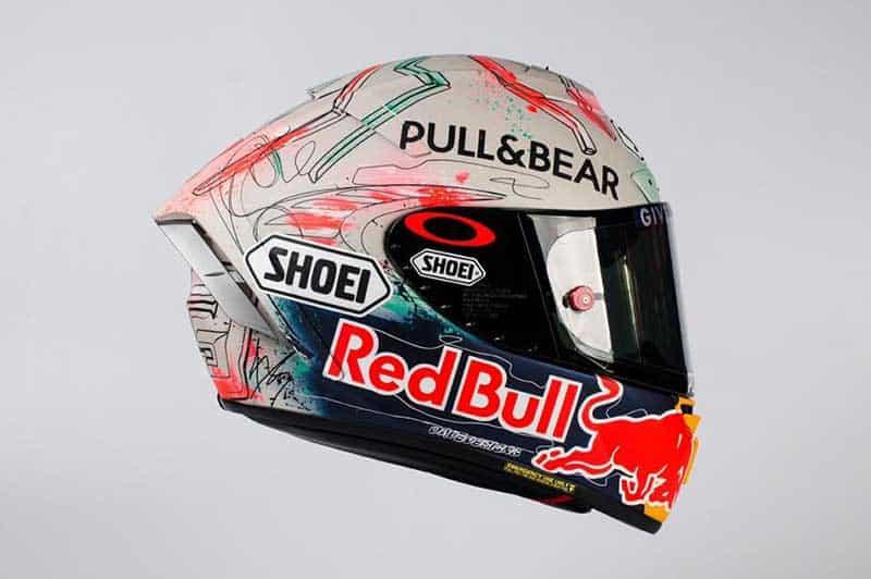 """Marc Marquez"" เปิดตัวหมวกกันน็อค ""Shoei X-Spirit III"" ลายพิเศษ Catalunya 2019   MOTOWISH 5"
