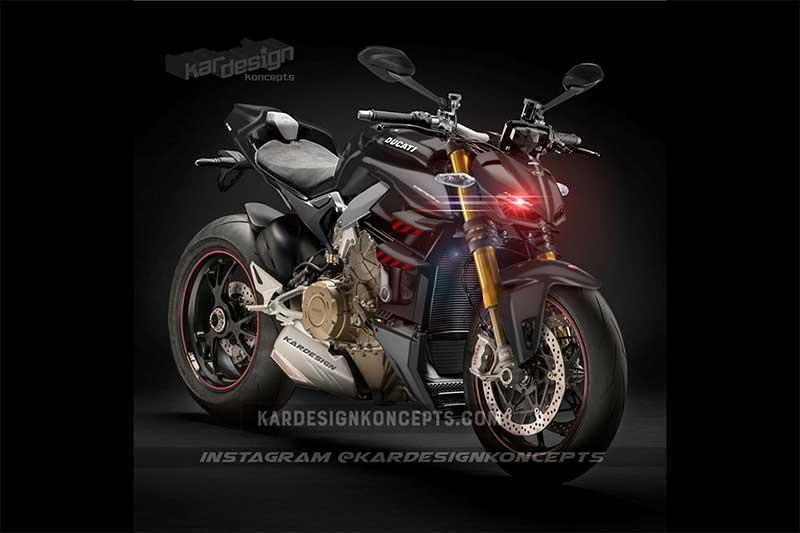 ชมเรนเดอร์ Ducati Streetfighter V4 แกะแบบ Prototype ผสาน Panigale V4 โหด หรู คู่ควร | MOTOWISH 3