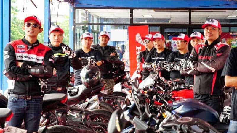 เอ.พี. ฮอนด้า จัดกิจกรรมสุดเอ็กซ์คลูซีฟ Test Ride Experience รถสปอร์ต 4 รุ่นสุดฮอต | MOTOWISH 4