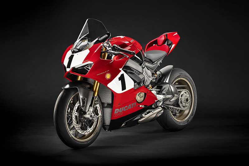 เปิดตัว Ducati Panigale V4 25° Anniversario 916 ลิมิเต็ดสุดติ่ง 500 คันในโลก ราคา 1.46 ล้าน | MOTOWISH 4
