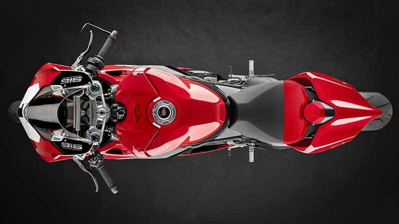 เปิดตัว Ducati Panigale V4 25° Anniversario 916 ลิมิเต็ดสุดติ่ง 500 คันในโลก ราคา 1.46 ล้าน | MOTOWISH 5