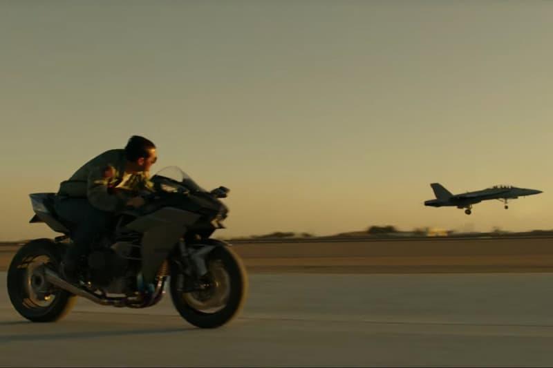เปิดทีเซอร์หนังเรื่อง TOP GUN 2 ทอม ครูซ ควบตัวโหด Ninja H2 ประกบเครื่องบินรบ F18 | MOTOWISH