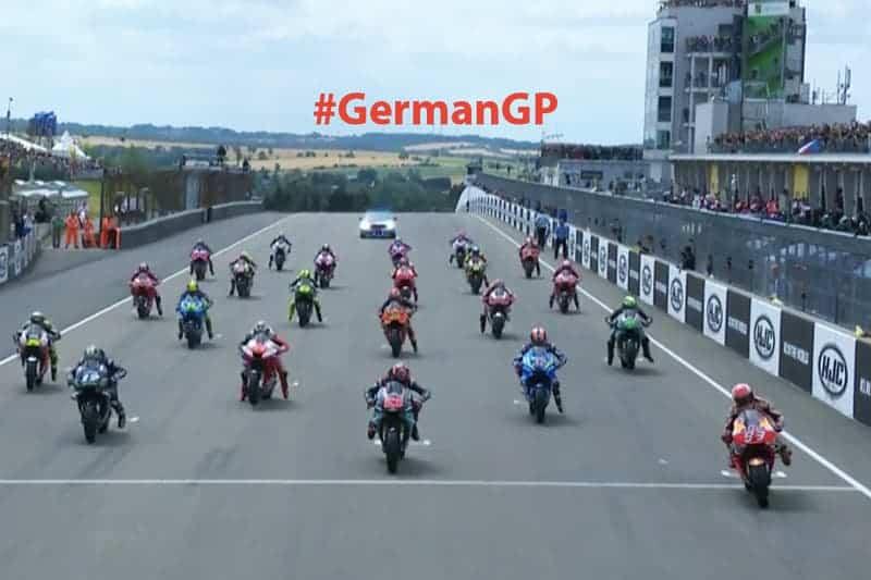 ย้อนหลังการแข่งขัน MotoGP 2019 สนามที่ 9 GermanGP มาร์เกซ กดม้วนเดียวจบพร้อมบันทึกสถิติ | MOTOWISH