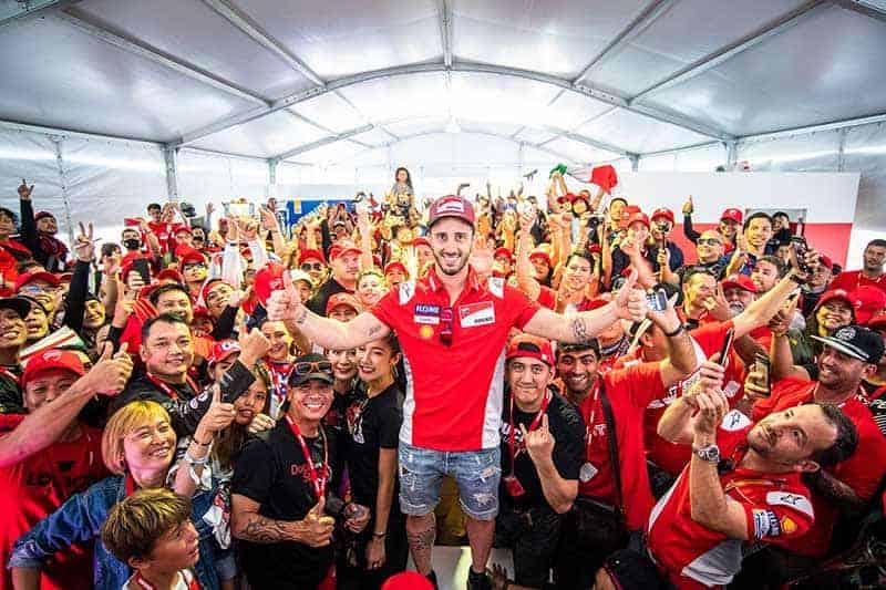 """Ducati @MotoGP 2019"" ประสบการณ์สุดเอ็กซ์คลูซีฟ กระทบไหล่ ""โดวิซิโอโซ่"" & ""เปตรุคชี่"" แบบใกล้ชิด | MOTOWISH 3"