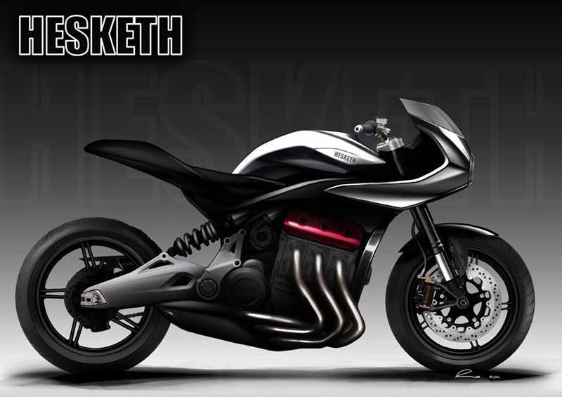 Hesketh ค่ายรถจากอังกฤษ เตรียมสร้างรถรุ่นใหม่ เครื่องยนต์ 1000 ซีซี 3 สูบ ซูเปอร์ชาร์จ | MOTOWISH 2