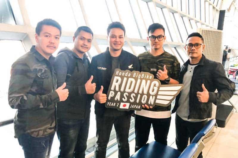 4 ไบค์เกอร์ ผู้ชนะกิจกรรม Honda BigBike Riding Passion Year 2 บินลัดฟ้าสู่แดนซามูไรแล้ว | MOTOWISH 1